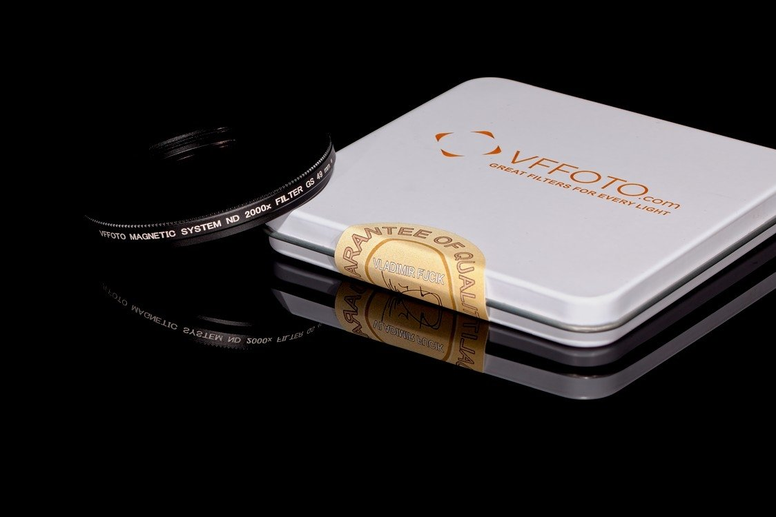 magnetický ND filtr 2000x VFFOTO GS 49 mm