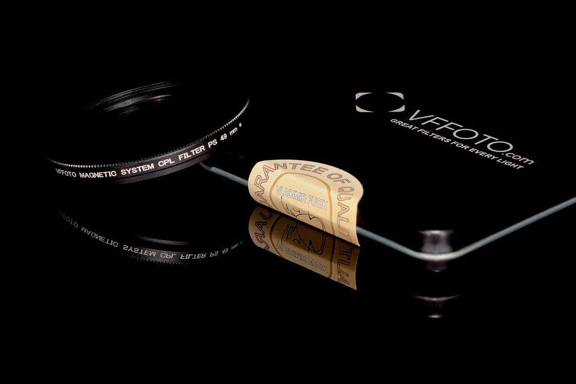 magnetický polarizační filtr VFFOTO PS 49 mm