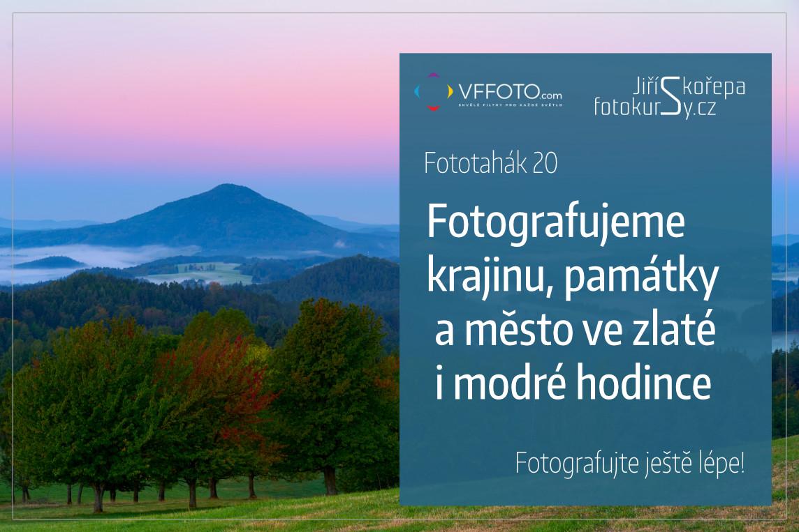 ebook Fotografujeme  krajinu, památky a město ve zlaté a modré hodince