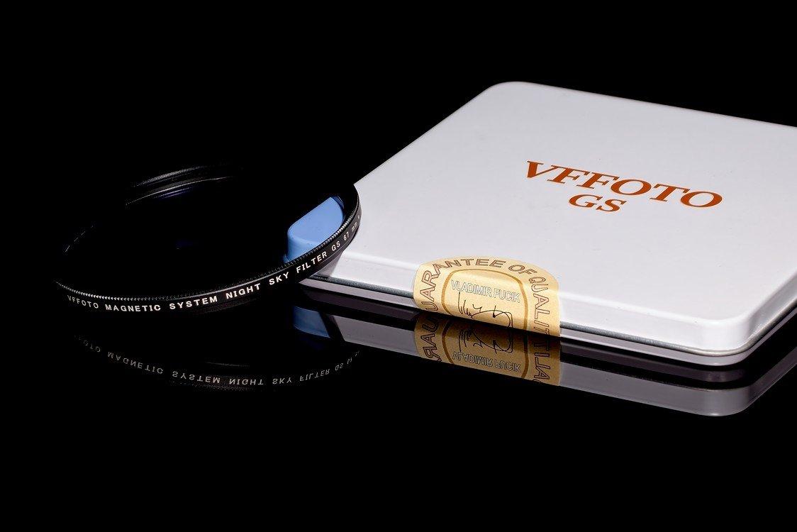 magnetický NIGHT SKY filtr VFFOTO GS 67 mm