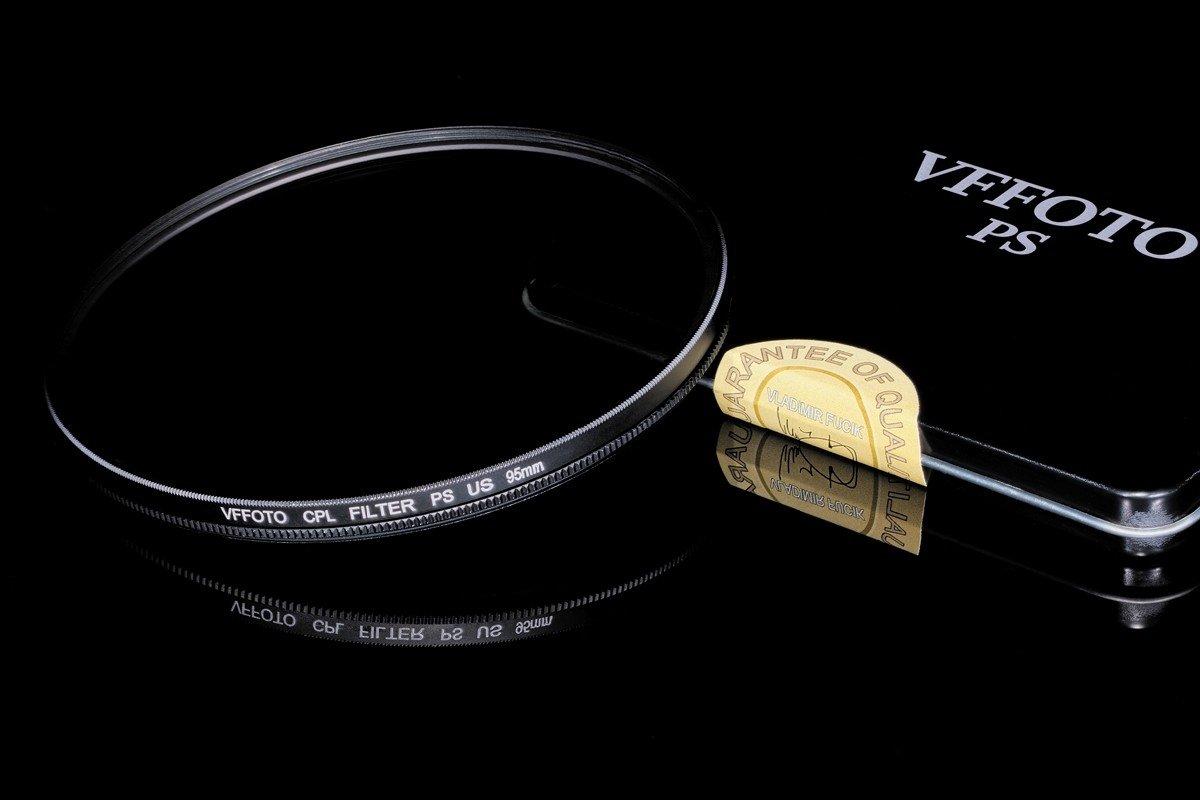 polarizační filtr VFFOTO PS US 95 mm